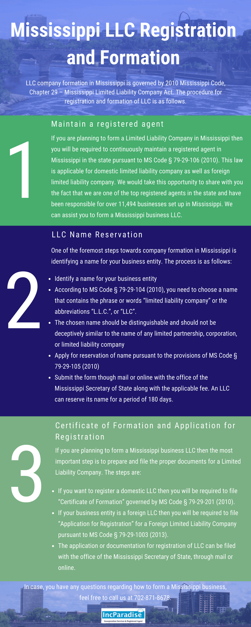 How to call the LLC